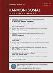 Harmoni Sosial : jurnal pendidikan IPS