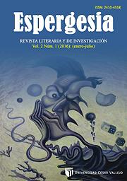 ESPERGESIA. Revista de investigación literaria