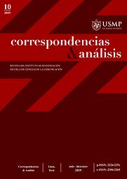 Correspondencias & análisis