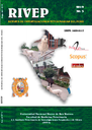 Revista de investigaciones veterinarias del Perú