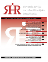 Hrvatska Revija za Rehabilitacijska Istrazivanja = Croatian Review of Rehabilitation Research