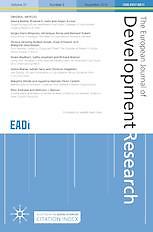 European journal of development research