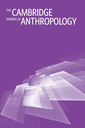 Cambridge anthropology  : a journal of the Department of Social Anthropology, Cambridge University