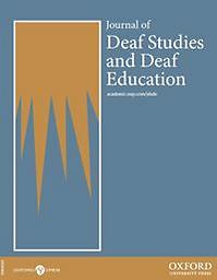 Journal of deaf studies and deaf education