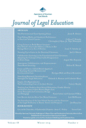 Journal of legal education