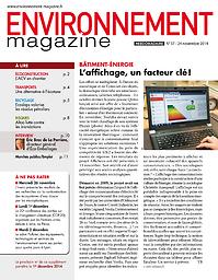Environnement magazine : hebdomadaire