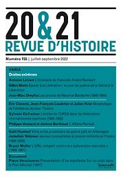 20 & 21. Revue d'histoire