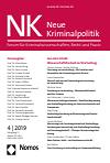 Neue Kriminalpolitik. Forum für Kriminalwissenschaft, Recht und Praxis