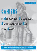 Cahiers de l'Association scientifique européenne pour l'eau et la santé