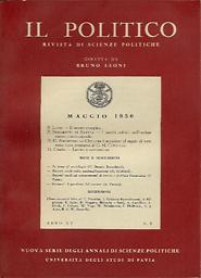 Il Politico : rivista di scienze politiche : nuova serie degli Annali di scienze politiche