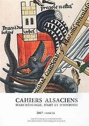 Cahiers alsaciens d'archéologie, d'art et d'histoire