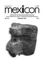 Mexicon : the Journal of Mesoamerican studies