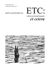 Etc. : a review of general semantics