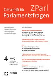 Zeitschrift für Parlamentsfragen