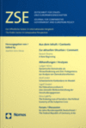 Zeitschrift fûr Staats- und Europawissenschaften = Journal for Comparative Government and European Policy