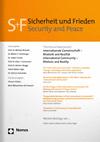 Sicherheit und Frieden = Security and Peace