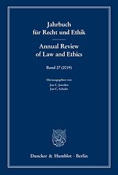 Jahrbuch für Recht und Ethik = Annual review of law and ethics
