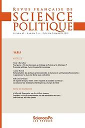Revue française de science politique (English Edition)