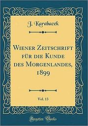 Wiener Zeitschrift für die Kunde des Morgenlandes
