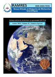 Revue Africaine et Malgache de Recherche Scientifiques
