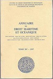 Annuaire de droit maritime et océanique : droit maritime, droit de la mer, droit portuaire, droit du littoral, relations internationales, droit comparé, droit communautaire, philosophie du droit, histoire du droit