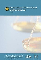 Utrecht journal of international and European law