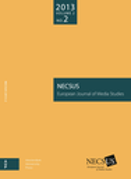 NECSUS : european journal of media studies