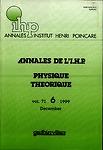 Annales de l'I.H.P. Physique théorique