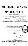 Nouvelles annales de mathématiques : journal des candidats aux écoles polytechnique et normale