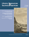 Library resources & technical services