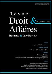 Revue droit & affaires