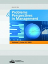 Problems & perspectives in management