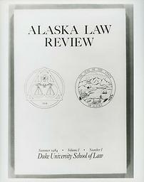 Alaska law review