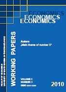 Economics working papers