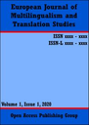 European Journal of Multilingualism and Translation Studies