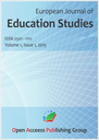 European journal of education studies