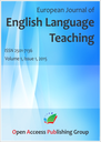 European journal of english language teaching