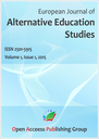 European journal of alternative education studies