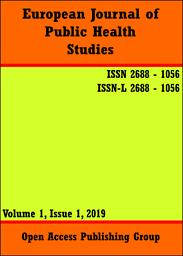 European journal of public health studies