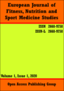 European journal of fitness, nutrition and sport medicine studies