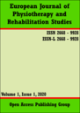 European journal of physiotherapy and rehabilitation studies