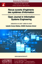 Revue ouverte d'ingénierie des systèmes d'information = Open Journal in Information Systems Engineering