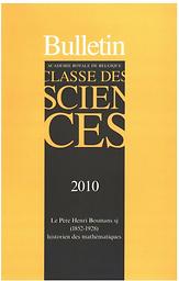 Bulletin de la Classe des sciences