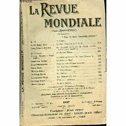 Revue mondiale : ancienne Revue des revues