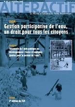 Alteractif : la revue d'Ingénieurs Sans Frontières