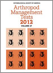 Arthropod management tests