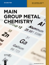 Main group metal chemistry