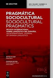 Pragmática sociocultural = Sociocultural pragmatics