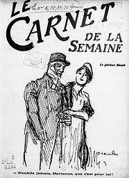 Carnet de la semaine : gazette illustrée, littéraire, politique, économique et satirique
