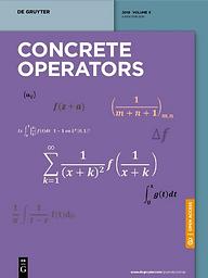 Concrete Operators
